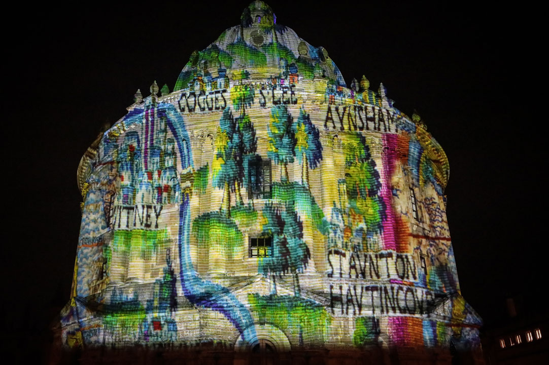 Oxford Christmas Light Festival 2020 Live Streaming And Projections