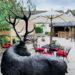 EXCLUSIVE: The White Hart in Fyfield is transformed with firepits, garden dining pagodas and an outdoor pizza oven, kitchen and bar. Bring on July 4!